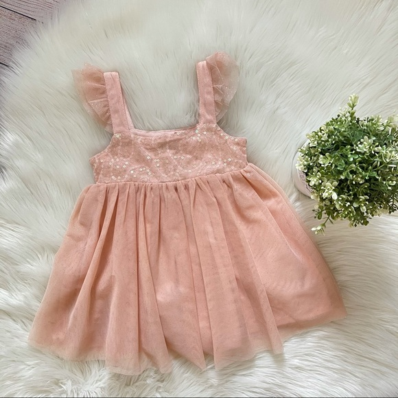 NWT Children's Place Sequence Dress